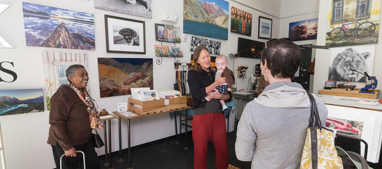 Hunt for Cool Crafts and Art on the Arts Walk