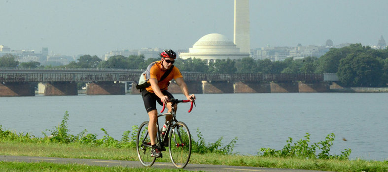 Ride the Mount Vernon Bike Trail