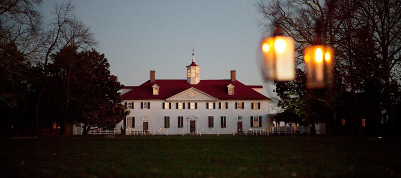 Enjoy a candlelit tour at George Washington's Mount Vernon