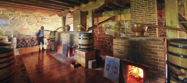 George Washington's Mount Vernon Distillery