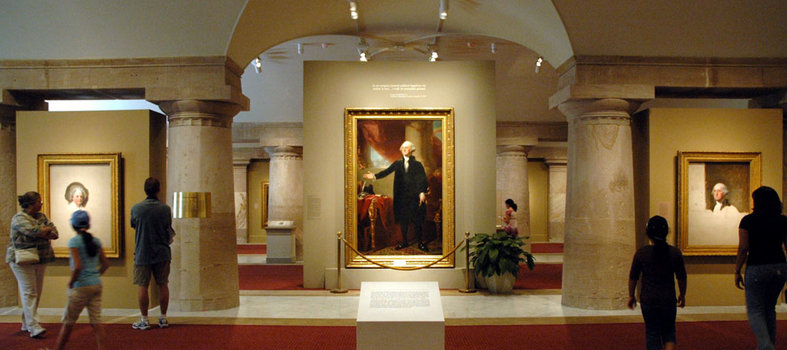 Peep the Presidential Portraits at the National Portrait Gallery