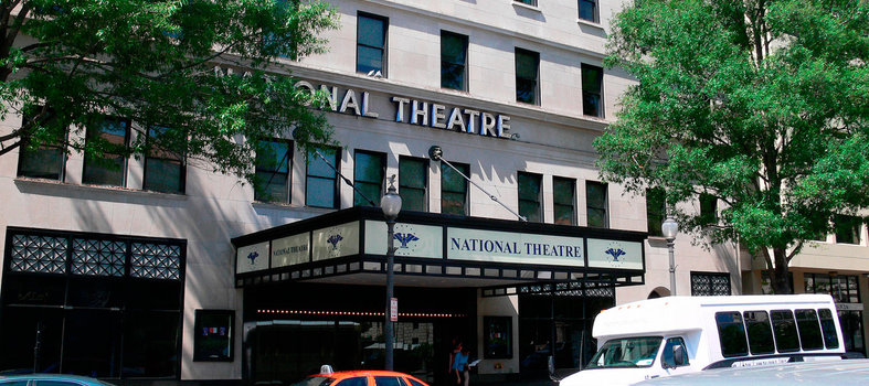 Watch a Broadway show inside the beltway at the National Theatre