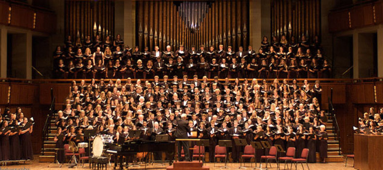 Hear inspiring sounds at the National Memorial Day Choral Festival