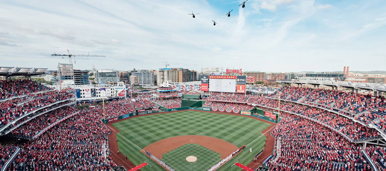 Catch America's pastime at Nationals Park