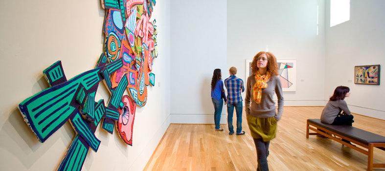 Wander through America's first modern art museum