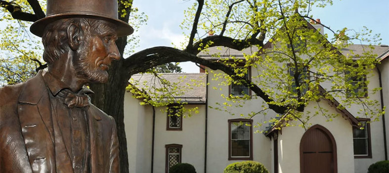 Enter the home where Lincoln drafted the Emancipation Proclamation