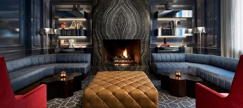Cozy Up By The Fire At Quadrant Bar U0026 Lounge Ritz Carlton, Washington, DC