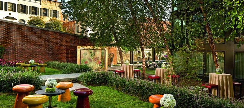 Combine yoga and brunch at The Ritz-Carlton Georgetown, Washington, D.C.