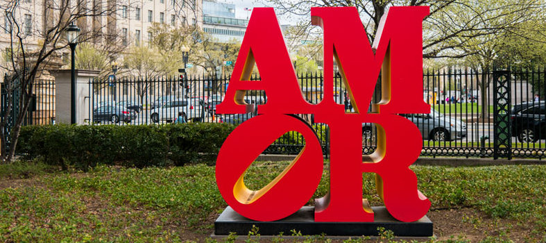 Feel the AMOR at the National Gallery of Art's Sculpture Garden