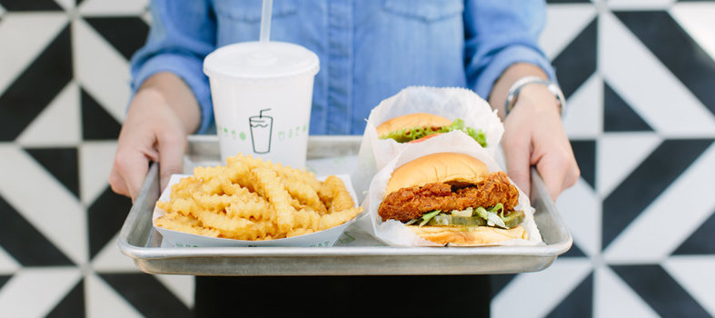You can't go wrong at Shake Shack