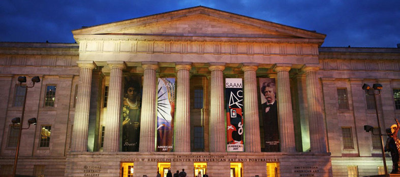 Check out the John F. Kennedy exhibit at the Smithsonian American Art Museum