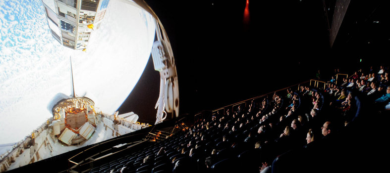 Catch an IMAX flick at the Smithsonian National Air and Space Museum