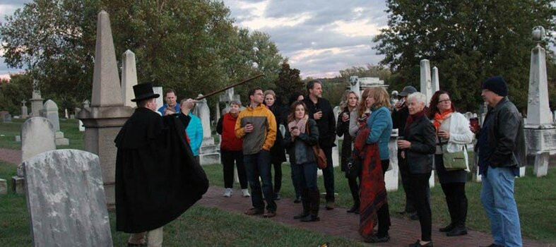 Soul Strolls: Twilight Tours at Congressional Cemetery
