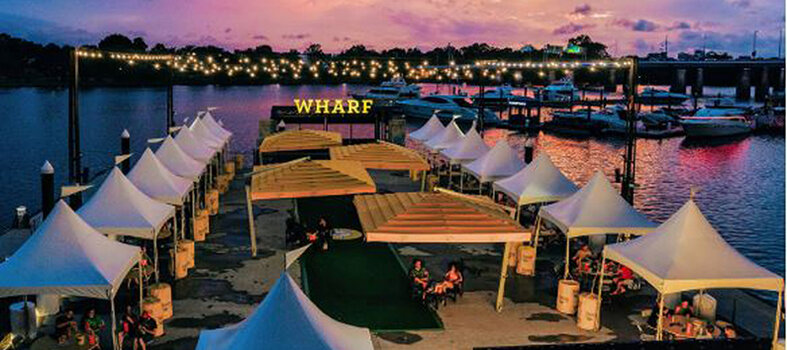 Sunset Cinema at The Wharf – Through Oct. 30