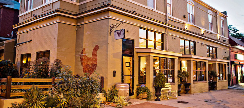 Take in the creative comfort of dinner at The Red Hen