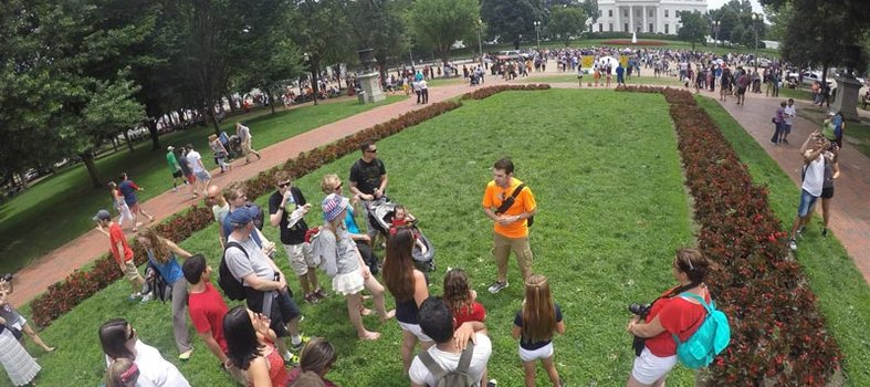 Take a DC by Foot walking tour