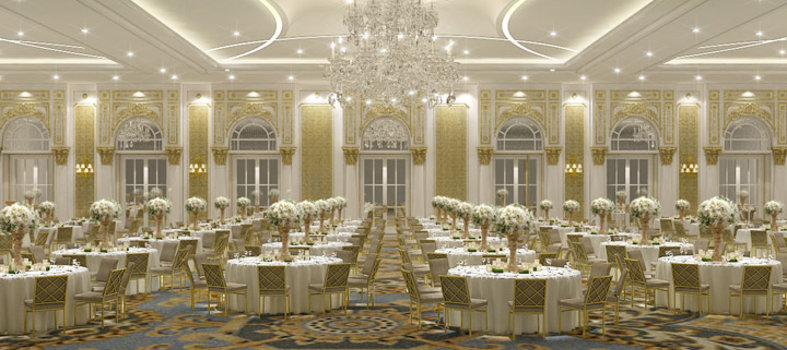 The 10 largest hotel ballrooms in washington dc for Hotel design washington dc