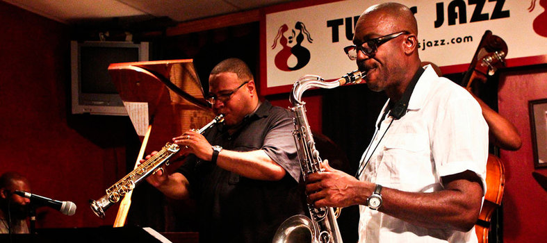 Experience the Twins Jazz Club's international vibes