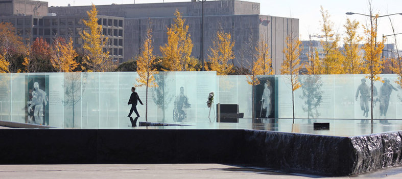 Take in the American Veterans Disabled for Life Memorial