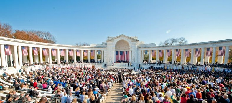 Pay tribute at numerous DC sites on Veterans Day