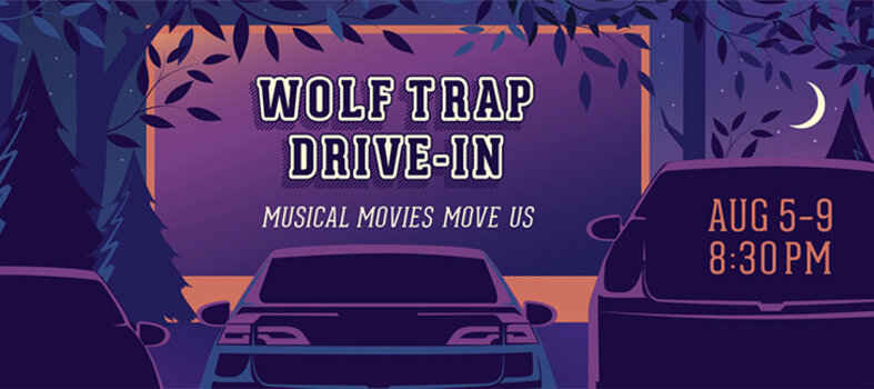 Wolf Trap Foundation's Drive-In Movies at Wolf Trap National Park