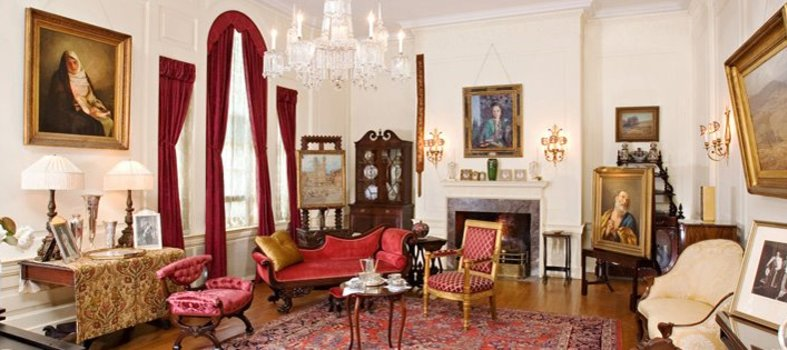 Explore the home of a former president at Woodrow Wilson House