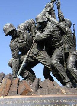 U S Marine Corps War Memorial Iwo Jima Memorial