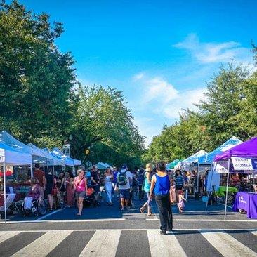 17th Street Festival in Dupont Circle - Summer Neighborhood Festival in Washington, DC