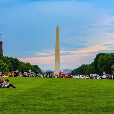 @_dromomaniac - Summer evening on the National Mall - Public parks in Washington, DC