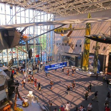 The Smithsonian National Air Space Museum Washington Org