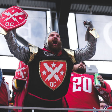 DC Defenders XFL Game at Audi Field - Professional Football in Washington, DC