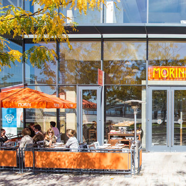 Diners at Osteria Morini on the Capitol Riverfront - Restaurants with outdoor dining in Washington, DC