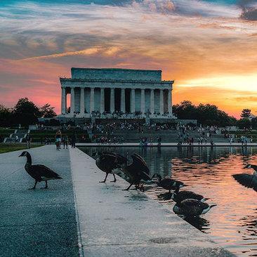 @dmorrocco - Lincoln Memorial at Sunset - Washington, DC