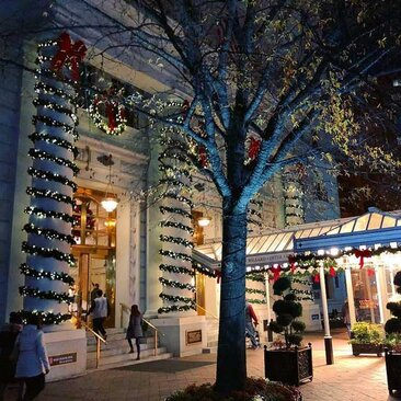 @docrox6 - The Willard Intercontinental Hotel in Downtown Washington, DC decorated for Christmas and the winter holidays