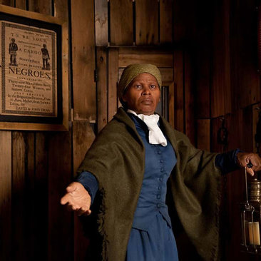 Harriet Tubman Wax Figure at Madame Tussauds