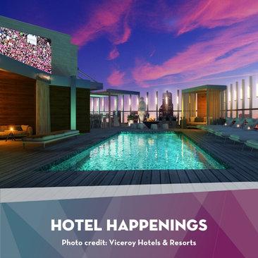 Hotel Happenings