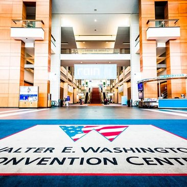 Inside the Walter E. Washington Convention Center in Washington, DC - Top Meeting and Convention Venue in Washington, DC