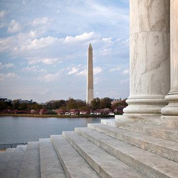 Jefferson Memorial on the National Mall - Landmark in Washington, DC
