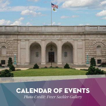 Calendar of Events - Destination DC Journalist Newsletter