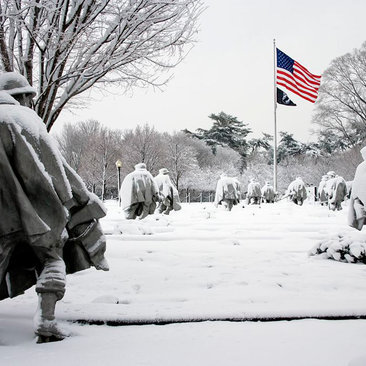 Korean War Veterans Memorial - National Mall - Washington, DC