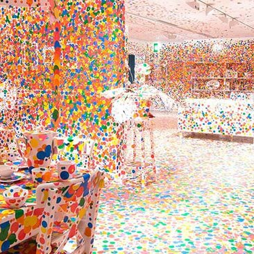 Events & Festivals in Washington, DC - Yayoi Kusama's Infinity Mirrors Exhibit at the Hirshhorn Museum