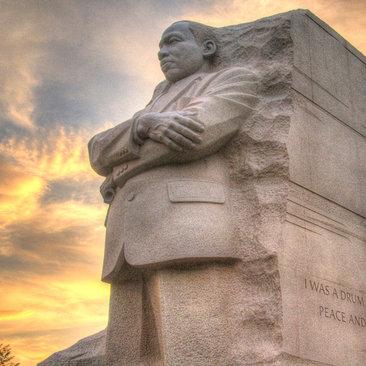 Martin Luther King, Jr. Memorial at Sunset - Washington, DC