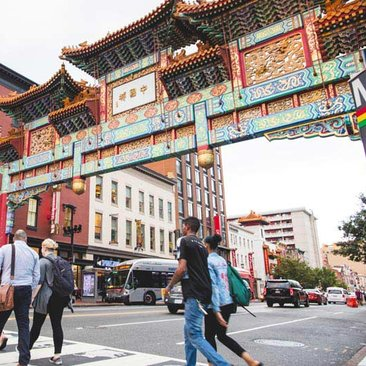 Friendship Archway in Chinatown - Neighborhoods in Washington, DC