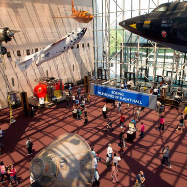 Smithsonian Air and Space Museum Lobby