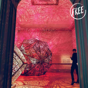 Free Events, Festivals and More in Washington, DC - No Spectators: The Art of Burning Man Exhibit at the Smithsonian Renwick Gallery