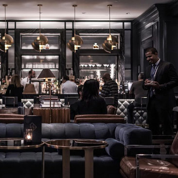 @willisaybar - Dining at the Quadrant Bar and Lounge in the Ritz-Carlton - Date ideas in Washington, DC