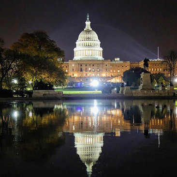 @yesitscess - United States Capitol West Front at Night - Washington, DC