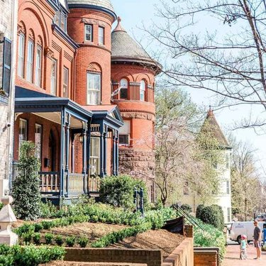 @abroadwife - Family in the historic Georgetown neighborhood - Spring in Washington, DC