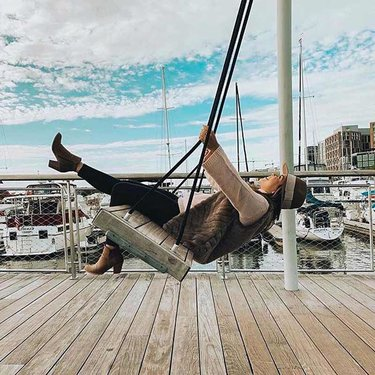 @itsmarianaus - Swing at The Wharf on the Southwest Waterfront - The best things to do in Washington, DC