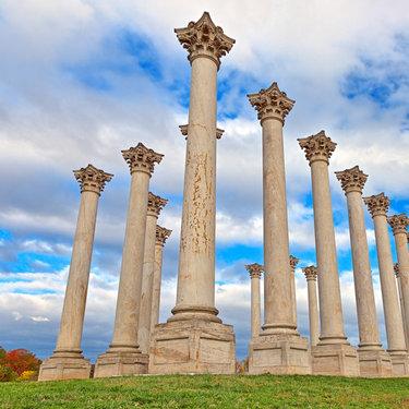 U.S. National Arboretum - National Capitol Columns - Fall in Washington, DC